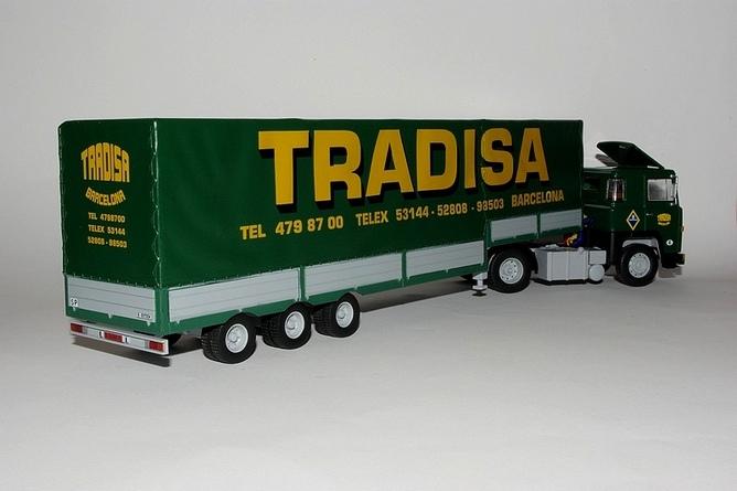 Scania lbt 141 v8 remorque savoyarde 1976 collection