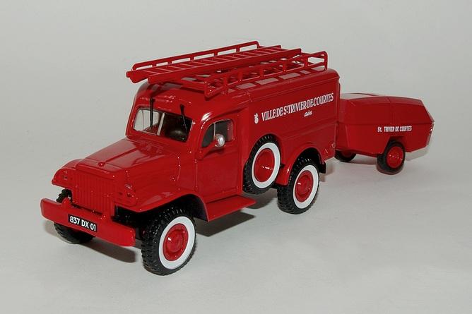 113 Dodge WC54 + motopompe MPR Guinard