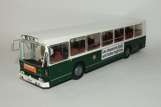 1//43 Ixo Berliet PR 100 1974 Bus 114