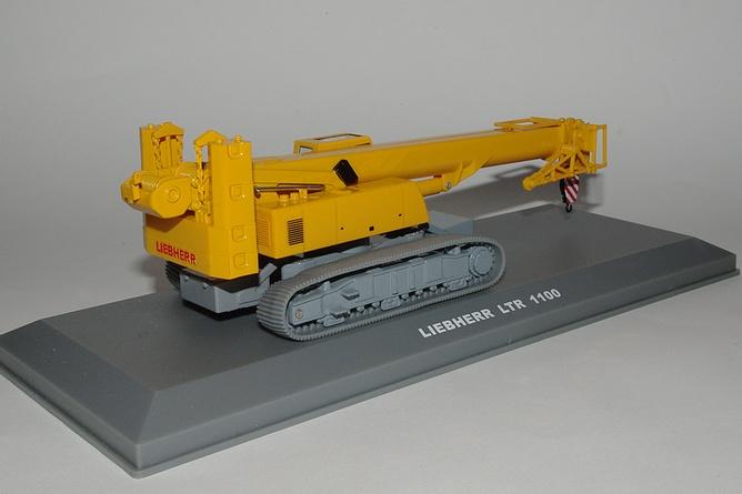 22 liebherr ltr1100 telescopic crawler crane arr