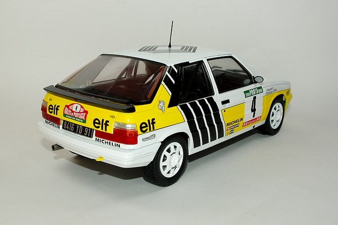 45 renault 11 turbo 1987 jean ragnotti arr
