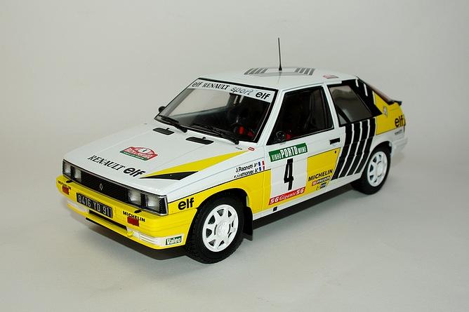 45 renault 11 turbo 1987 jean ragnotti