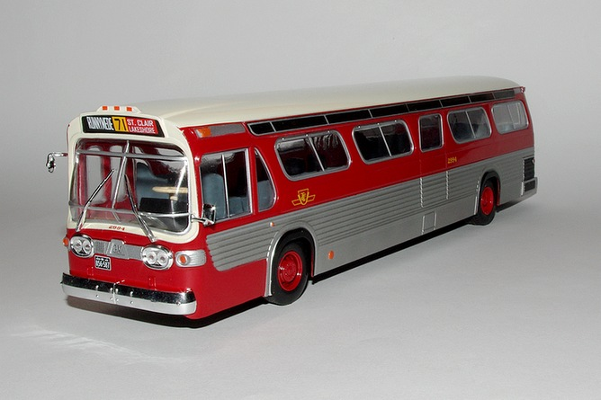 48 gmc new look bus usa 1959