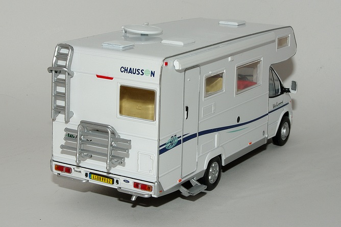 50 chausson welcome 30 sur ford transit arr