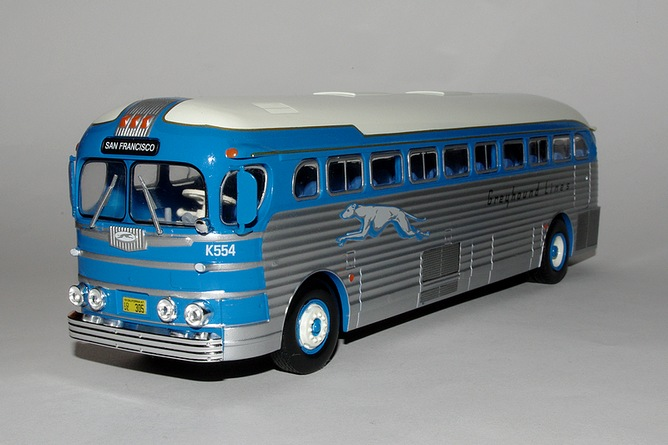 54 gmc pd 3751 greyhound