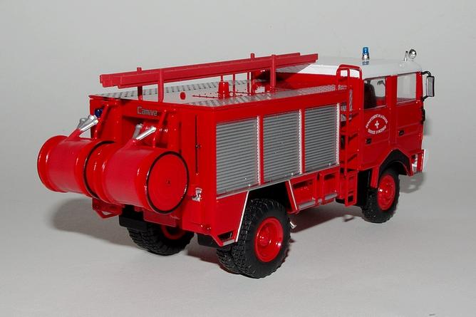 59 fourgon pompe tonne hors route camiva sur berliet gbd 4x4 arr