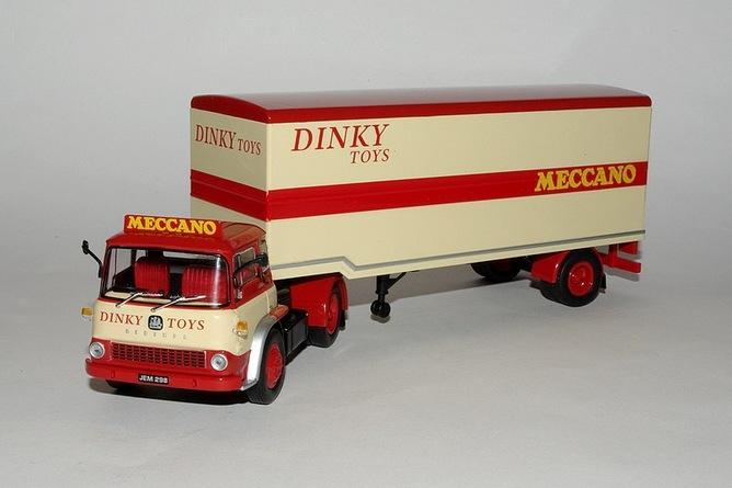 64 bedford tk 1960 dinky toys