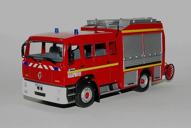 8 fourgon pompe tonne de secours routier heinis sur renault g270 sp 1