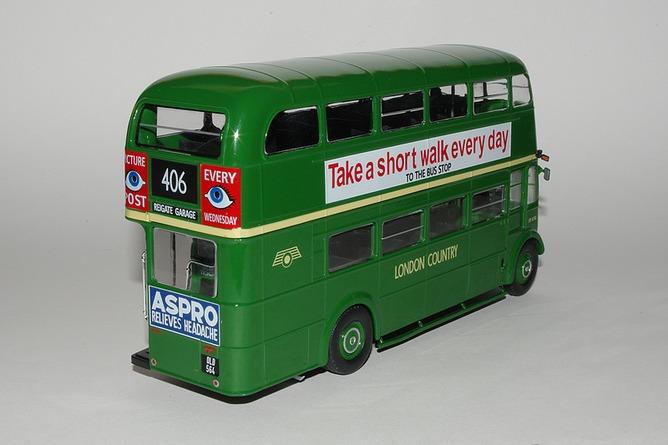 87 aec regent iii rt green country bus arr
