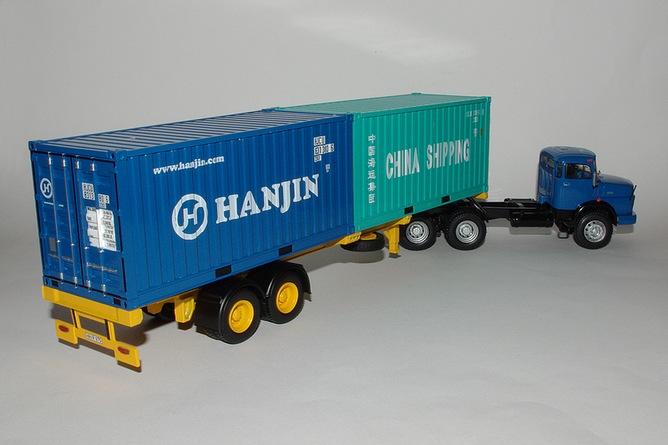 89 mercedes benz ls 2624 porte containers arr