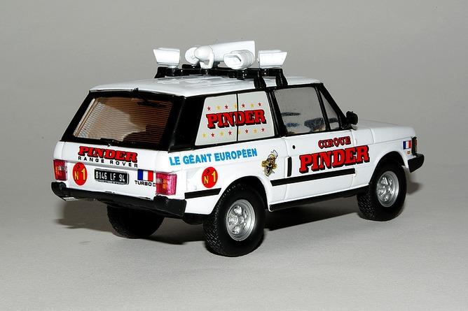 Cadeau range rover turbo d arr