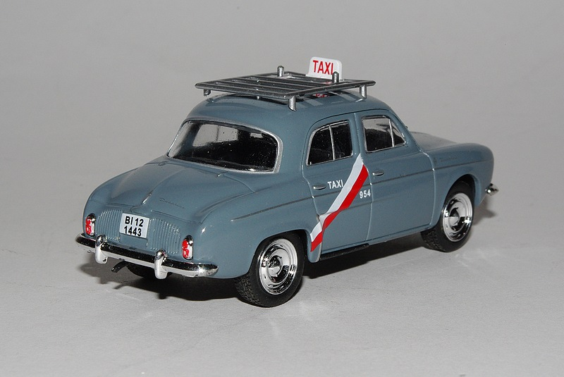 Dauphine taxi 1962 arr