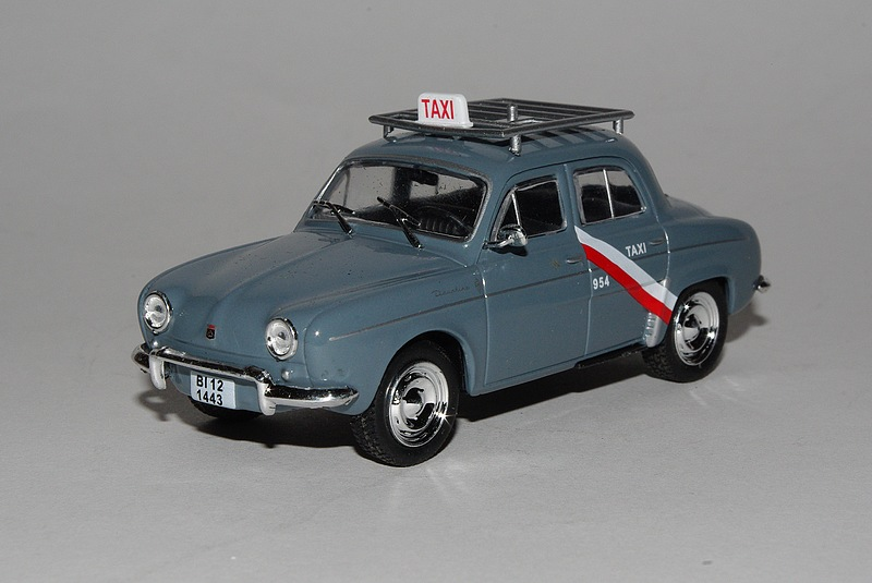 Dauphine taxi 1962