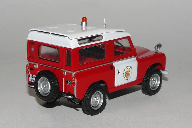 Land rover 88 cuerpo de barcelona arr