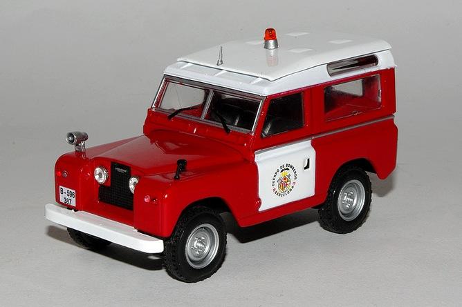 Land rover 88 cuerpo de barcelona