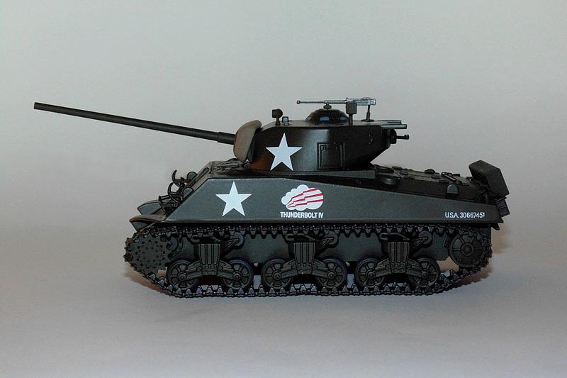 M4a3 sherman lateral
