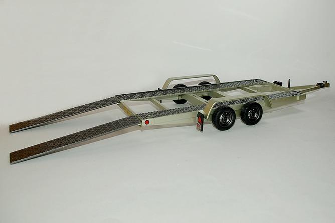 Ot225 remorque porte voiture avec rampe arr