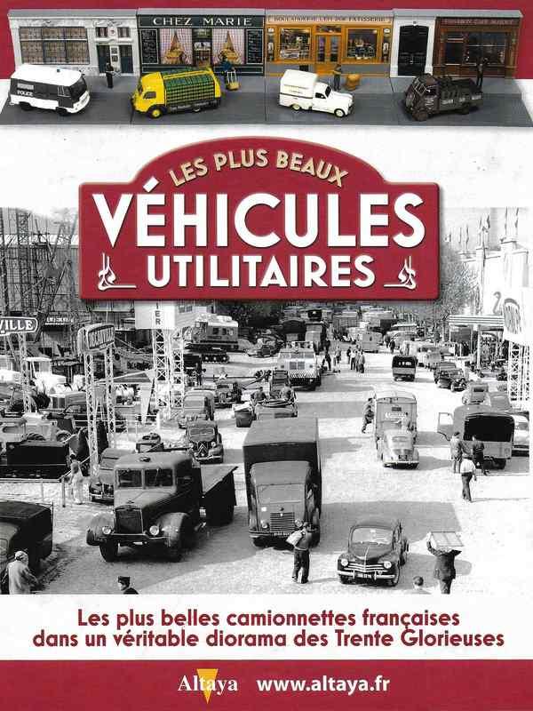 Vehicules utilitaires avec diorama